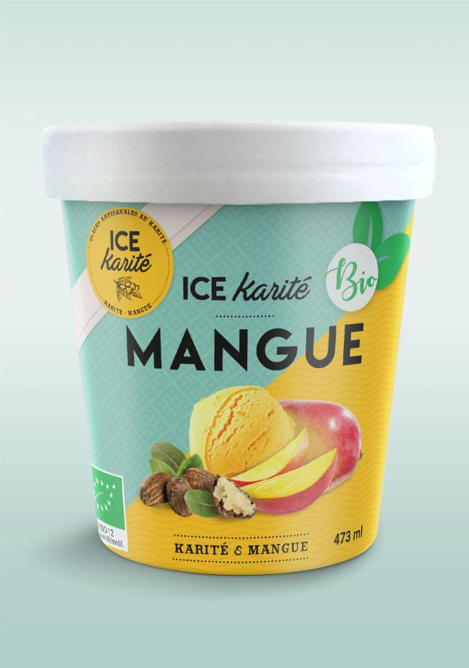 Pot bio mangue 473 ml